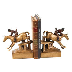 Bookends Bookend Horse and Rider Classic