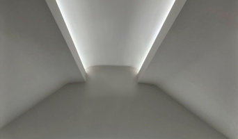 From flat ceiling to vaulted ceiling.