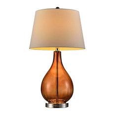 "27"" Marmalade Glass Table Lamp"