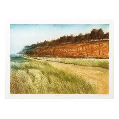Harvey Kidder, Beach Road, Etching