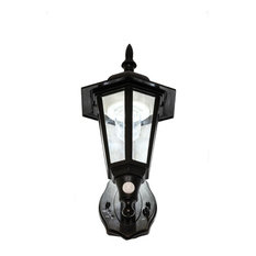 Maxsa Battery Ed Motion Activated Plastic Led Wall Sconce Outdoor Lights And
