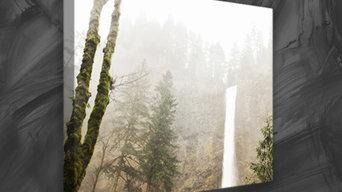 Multnomah Falls Nature Canvas Print