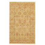 """Unique Loom - Unique Loom Edinburgh Adel Area Rug, Cream, 3'3""""x5'3"""" - The classic look of the Edinburgh Collection is sure to lend a dignified atmosphere to your home. With an array of colors and patterns to choose from, there�s a rug to suit almost any taste in this collection. This Edinburgh rug will tie your home�s decor together with class and amazing style."""