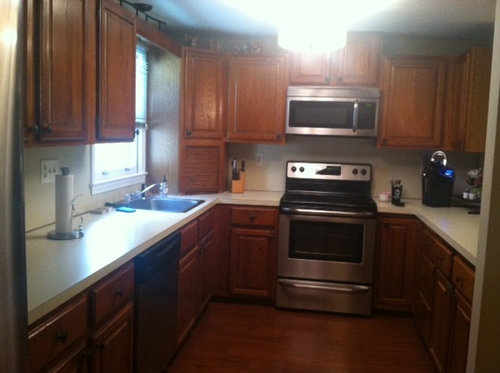 Whats The Best Way To Update Oak Kitchen Cabinets