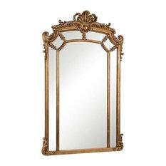 """Elegant Antique Mirror, Gold, 30""""x48"""""""