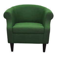 Naples Grande - Nikole Club Chair, Emerald Green - Armchairs and Accent Chairs