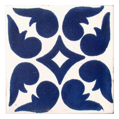 "4""x4"" Mexican Ceramic Handmade Tile #C050"