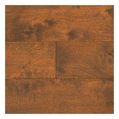 """Ugen Floors 3/8"""" Engineered Hardwood Handscraped Birch Collection, Set of 10"""