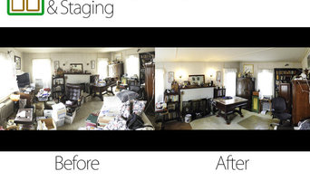 Cleanup,organizing and Staging