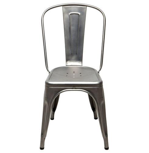 Stol A, Grå/Matt - Spisebordsstole