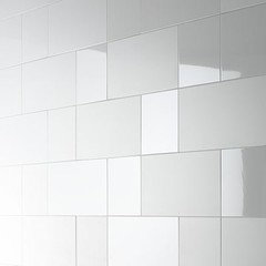 can i use same tile in both gloss/matt finish in the bathroom?