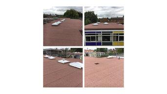 sir donald bailey academy roof