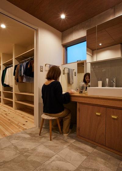 モダン トイレ・洗面所 by Polite Design Office/ポライトデザインオフィス