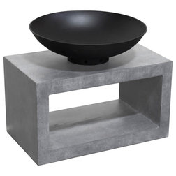 Contemporary Fire Pits by Astella