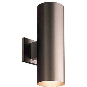 Progress Lighting, Wall Lantern Metal Shade, Large, Antique Bronze