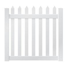 """Danbury 4' Pre-Assembled Gate, 50"""""""