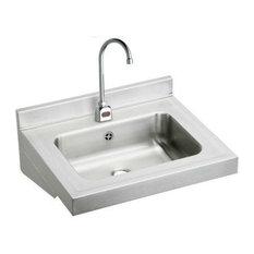 Elkay ELVWO2219SACMC Stainless Steel Lavatory Sink Fixture, Stainless Steel