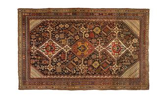 Antique Persian Qashqai Kashkulee (c. 1880 Persia)