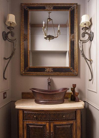 Современная классика Туалет Гостевой туалет