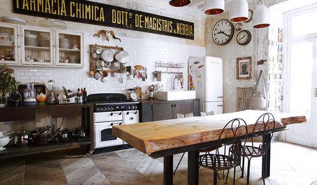 Casas Houzz: Una vivienda en Milán con un particular estilo retro