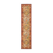 """Safavieh Heritage Collection HG510 Rug, Multi/Red, 2'3"""" X 16'"""