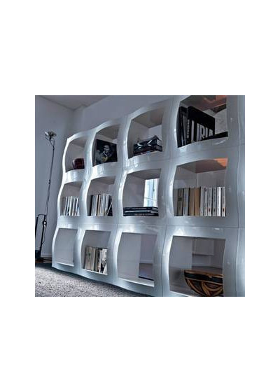 Contemporary Bookcases by homefrenzy