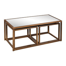 Nested Cocktail/End Table 3 Piece Set   Coffee