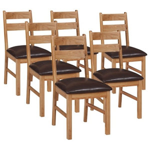 Otago Low Dining Chairs, Set of 6