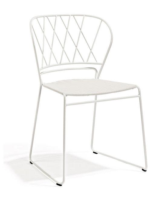 Resö Stol, Vit/Vit - Spisebordsstole