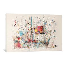 """Voyage Gallery"" by Rebecca Moy, 26x18x1.5"""