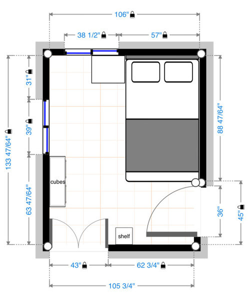 Small Bedroom W Queen Bed Ugh, How To Organize A Small Bedroom With Queen Bed