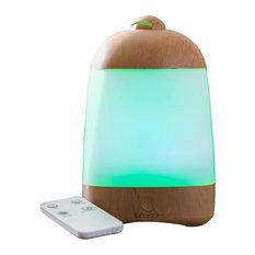 SpaRoom - SpaMist Wood Grain Ultrasonic Aromatherapy Diffuser - Home Fragrances