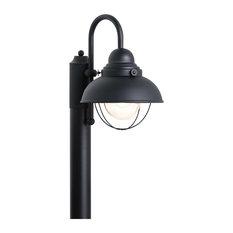 Sebring 1 Light Post Light or Accessories in Black