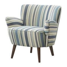 Sophie Chair in Jay Z Ocean, Blue