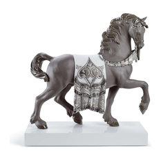 Lladro A Regal Steed Re Deco Figurine