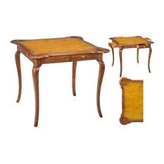 Games Table SARREID Antique Brown Solid