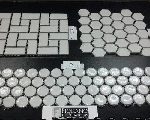 White Mosaic Pieces - Mosaic Tile