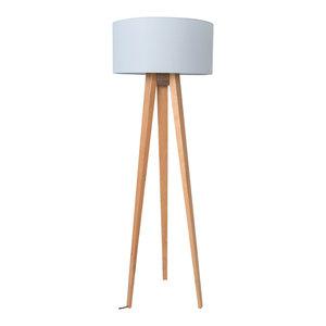La Diseñoteca Tres Patas Floor Lamp, Grey