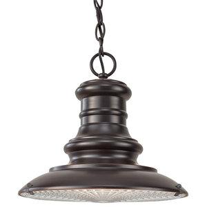 Medium Chain Lantern, Restoration Bronze