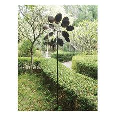 Summerfield Terrace - Pinwheel Garden Windmill - Garden Statues and Yard Art