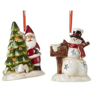 7bccf71b Dept56 Ice Fishing Gnome Ornament - Contemporary - Christmas ...