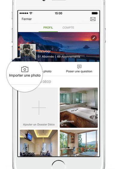 Utiliser Houzz Nouvelle Appli Houzz Pour Iphone Et Ipad