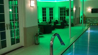 Swimming Pool Lighting Control Project