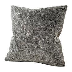 chauran gatsby silver beaded pillow cover decorative pillows