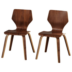 angelo:HOME Westley Bentwood Chair, Set Of 2, Walnut