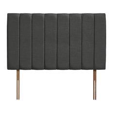 Florence Grand Upholstered Headboard, Granite Grey, 90 cm