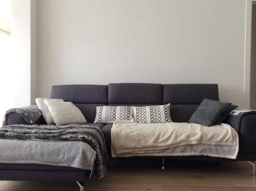 Parete Dietro Divano Grigio : Consiglio parete dietro divano
