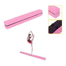 Costway 7' Sectional Gymnastics Floor Balance Beam Skill Training Folding