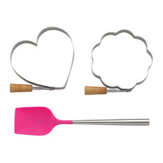 3-Piece New York MTL Gift Set, Pancake With 2 Molds