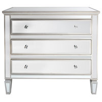 Louis Wide Mirrored Cabinet